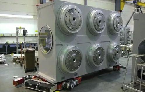 電池式リモート対応型 搬送システム