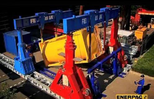 エナパック門型油圧リフターシステム